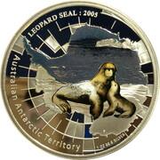1 Dollar - Elizabeth II (4th Portrait - Leopard Seal) – revers