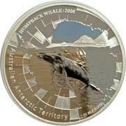 1 Dollar - Elizabeth II (4th Portrait - Humpback Whale) – revers