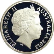 1 Dollar - Elizabeth II (4th Portrait - Sydney Opera House) -  avers