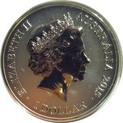 1 Dollar - Elizabeth II (4th Portrait - Sydney New Year's Eve) – avers