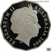 50 cents Visite royale -  avers