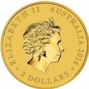 2 Dollars - Elizabeth II
