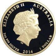 1 Dollar - Elizabeth II (4th Portrait - Submarine Service) -  avers