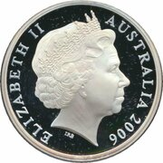 5 Dollars - Elizabeth II (4th Portrait - 150 Years of State Government New South Wales - Silver Proof) -  avers