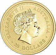 25 Dollars - Elizabeth II (