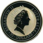 30 Dollars - Elizabeth II (3rd portrait;