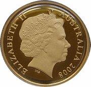 10 Dollars - Elizabeth II (4th Portrait - Mombassa Kangaroo - Gold Proof) -  avers