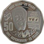 50 Cents - Elizabeth II (4th Portrait - Pride and Passion) – revers