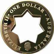 1 Dollar - Elizabeth II (Centenaire de la Fédération) -  avers
