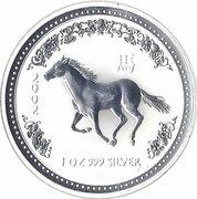 1 dollar Année du cheval (série I) -  revers