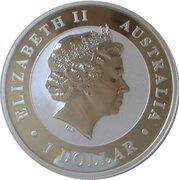 1 dollar Elizabeth II (4e effigie, kookaburra 2003-2004) -  avers