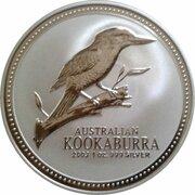 1 dollar Elizabeth II (4e effigie, kookaburra 2003-2004) -  revers