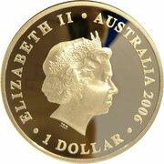 1 Dollar - Elizabeth II (4th Portrait - Figures of Note - Queen Elizabeth) -  avers