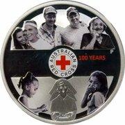 1 Dollar - Elizabeth II (Croix Rouge australienne) -  revers