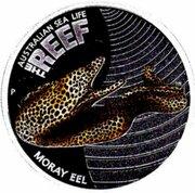 50 Cents - Elizabeth II (Moray Eel) – revers
