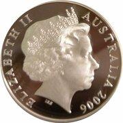5 Dollars - Elizabeth II (Jeffrey Smart) -  avers