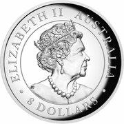 8 Dollars - Elizabeth II (Australian Kangaroo) -  avers