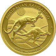 15 Dollars - Elizabeth II (Kangaroo) -  revers