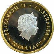 20 Dollars - Elizabeth II (4th portrait; Gregorian Millennium) -  avers
