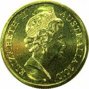 10 Cents - Elizabeth II (5th Portrait - Gottwald Proof Gold) -  avers