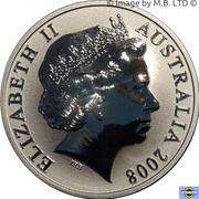 1 Dollar - Elizabeth II (4th Portrait - Mombassa Kangaroo) -  avers