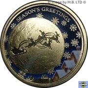 1 Dollar - Elizabeth II (Christmas) -  revers