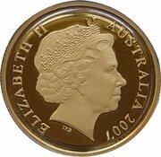 10 Dollars - Elizabeth II (4th Portrait - Rolf Harris Kangaroo - Gold Proof) -  avers