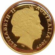 10 Dollars - Elizabeth II (4th Portrait - Ken Done Kangaroo - Gold Proof) -  avers