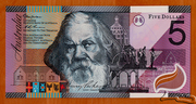 5 Dollars (Centenary of Federation) -  avers