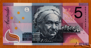 5 Dollars (Centenary of Federation) – revers