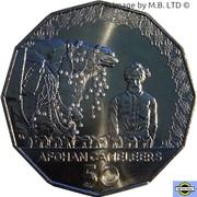 50 Cents - Elizabeth II (6th Portrait - Afghan Cameleers) – revers