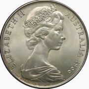 50 cents - Elizabeth II (Essai) -  avers