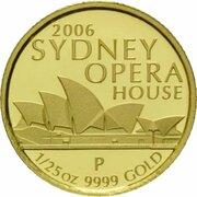 5 Dollars - Elizabeth II (4th Portrait - Sydney Opera Building) -  revers
