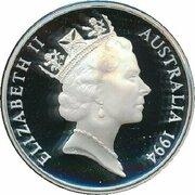 5 Dollars - Elizabeth II (3ème portrait ; Ludwing Leichhardt) -  avers