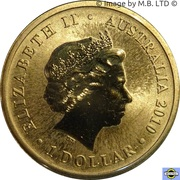 1 Dollar - Elizabeth II (World Expo) -  avers