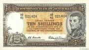 10 Shillings (Reserve Bank) – avers