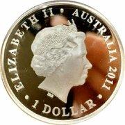 1 Dollar - Elizabeth II (4th Portrait - Gallipoli 1915 -  avers