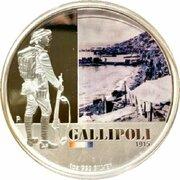 1 Dollar - Elizabeth II (4th Portrait - Gallipoli 1915 -  revers