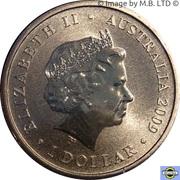 1 dollar Année du boeuf -  avers