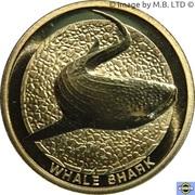 1 Dollar - Elizabeth II (4e Portrait; Requin baleine) – revers