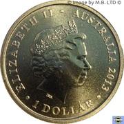 1 Dollar - Elizabeth II (4th Portrait - Kookaburra) -  avers