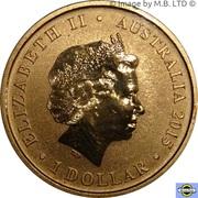 1 Dollar - Elizabeth II (4th Portrait - Year of the Goat) -  avers