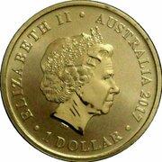 1 Dollar - Elizabeth II (4th Portrait - Women in War) -  avers