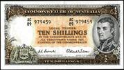 10 Shillings (Commonwealth Bank) – avers