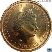 1 Dollar - Elizabeth II (4e portrait; Bush Bébés - Bilby) -  avers