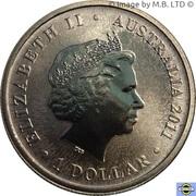 1 Dollar - Elizabeth II (4th Portrait - Griffin) -  avers
