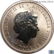 1 Dollar - Elizabeth II (4e portrait; Bush Bébés - Sugar Glider) -  avers