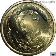 1 Dollar - Elizabeth II (4e portrait; Bush Bébés - Sugar Glider) -  revers