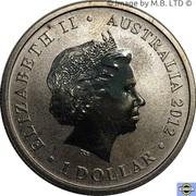 1 Dollar - Elizabeth II (Young Collectors - Rhino Beetle) – avers