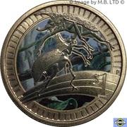 1 Dollar - Elizabeth II (Young Collectors - Rhino Beetle) – revers